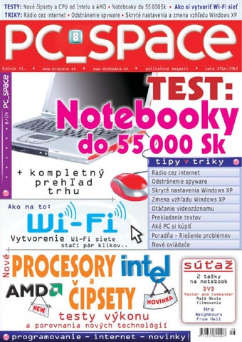 47e5c0f4f 2004-08 by PC_Space s.r.o. - issuu