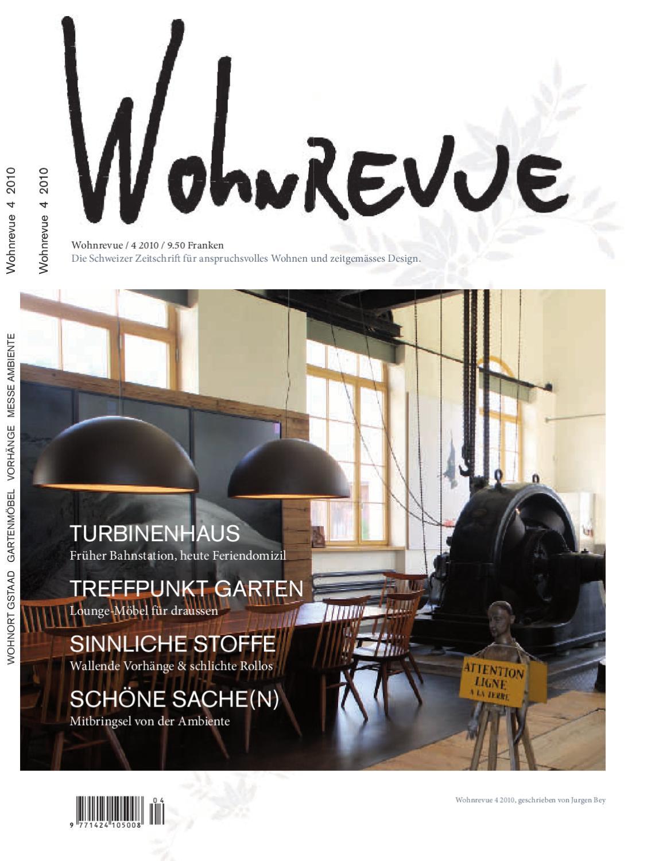 Wohnrevue 04 2010 by Boll Verlag - issuu