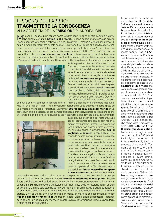 info for deea5 54101 TrentinoMese Aprile by Curcu Genovese - issuu