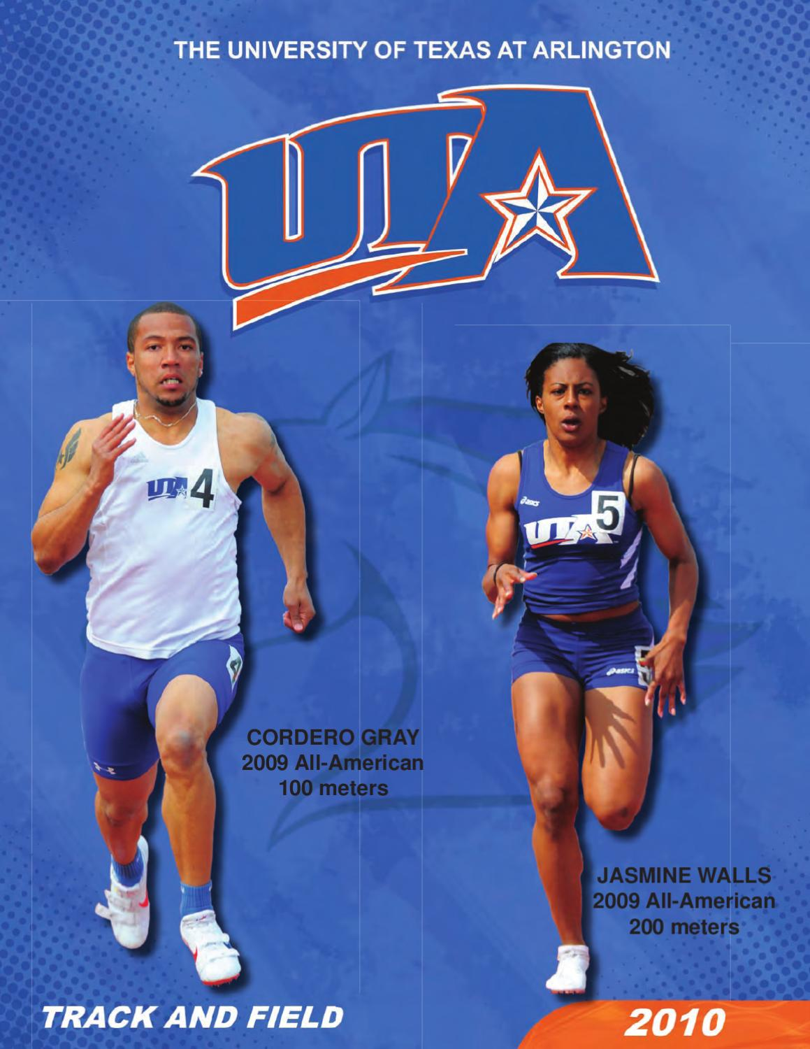2010 Men 39 S And Women 39 S Track And Field Information Guide