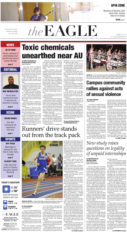 The Eagle -- April 15, 2010 by The Eagle - issuu