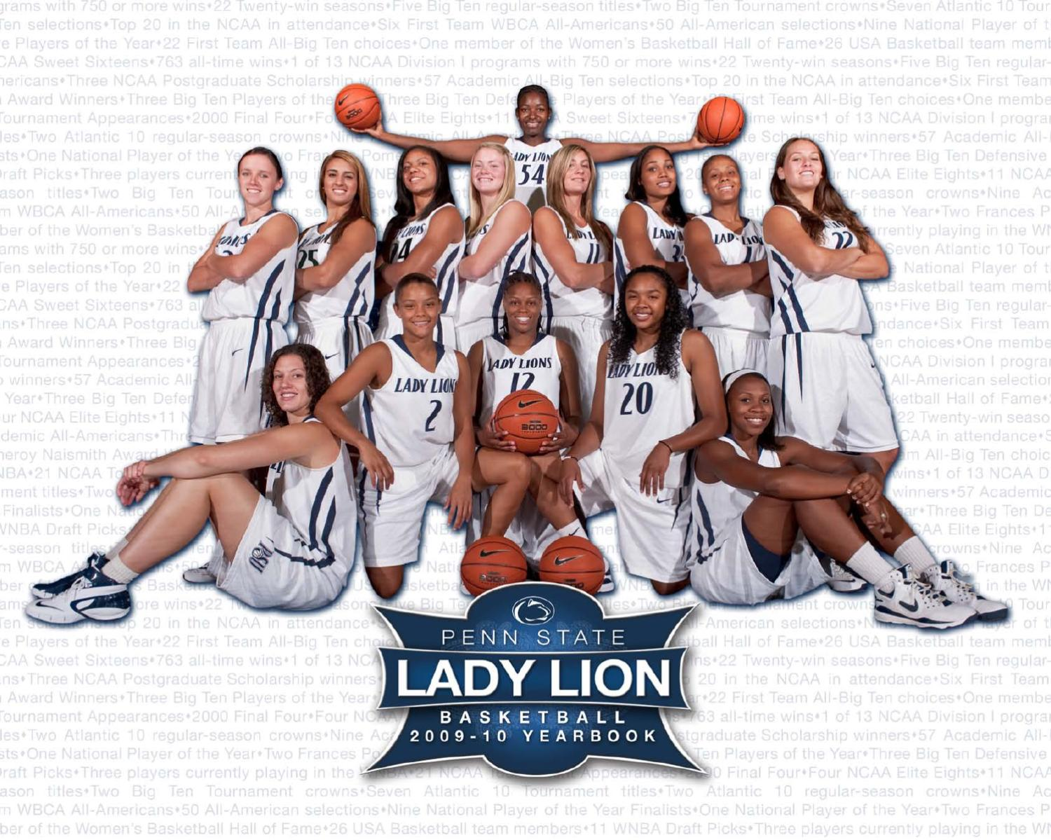 60591df2a492 2009-10 Penn State Lady Lion Basketball Yearbook by Penn State Athletics -  issuu