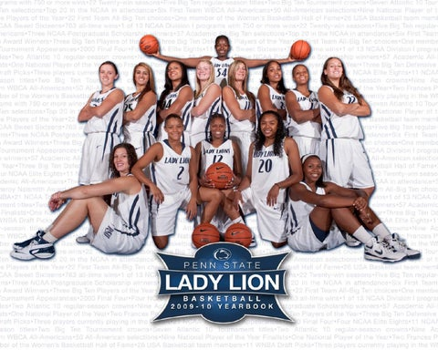 2009-10 Penn State Lady Lion Basketball Yearbook by Penn State ... a1e07f606