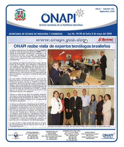 onapi15sep081 by Oficina Nacional de la Propiedad Industrial - issuu