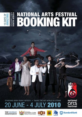 National Arts Festival Booking Kit 2010 By Tony Lankester Issuu