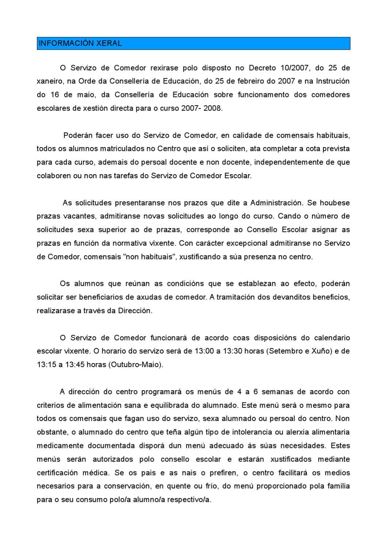 Información del comedor by Ivan Martinez - issuu