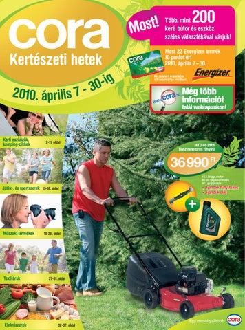 fcb7b5f7dc Kerteszeti_Hetek_Cora_2010-04-07 by Infoglobal Kft - issuu