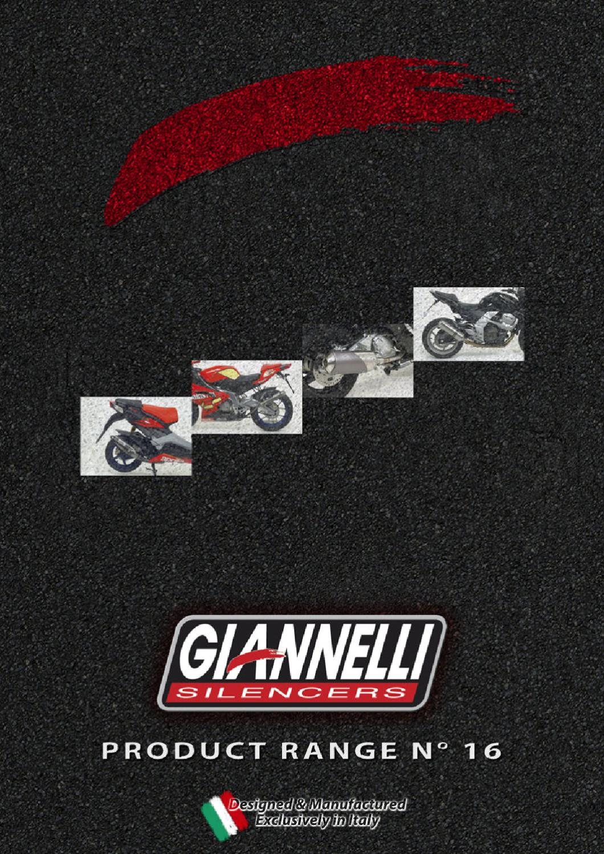 GIANNELLI TERMINALE COMPLETO RACE REVERSE MALAGUTI F15 FIREFOX 2005 05 2006 06 31612E
