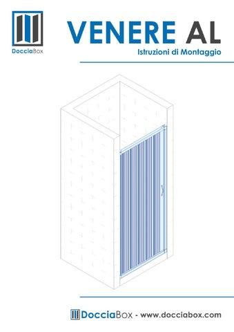 Istruzioni Montaggio Cabina Doccia.Istruzioni Di Montaggio Box Doccia Venere Al By Giuseppe Vegliante