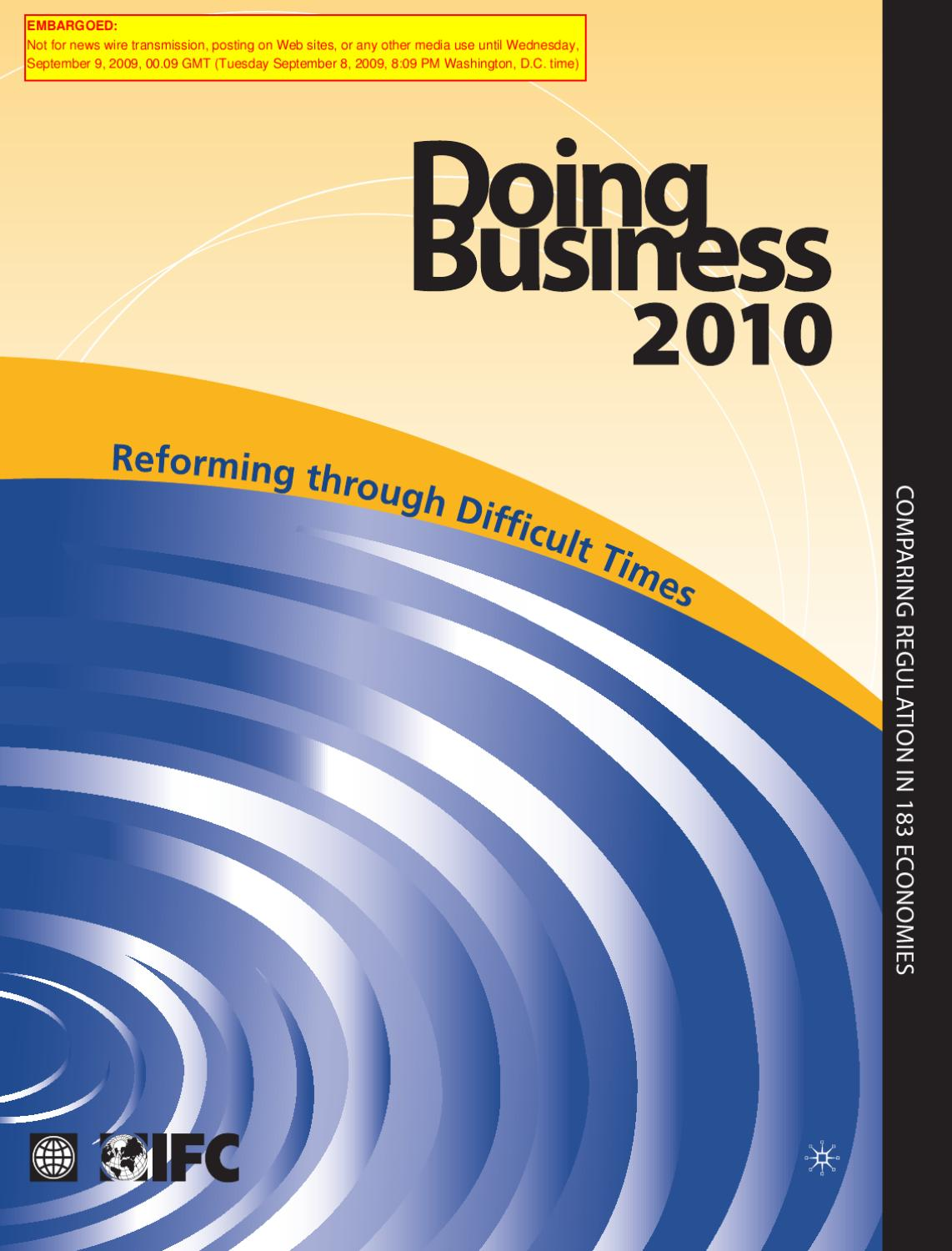 Atbi Milf Porn doing business 2010: a record in business regulation reform