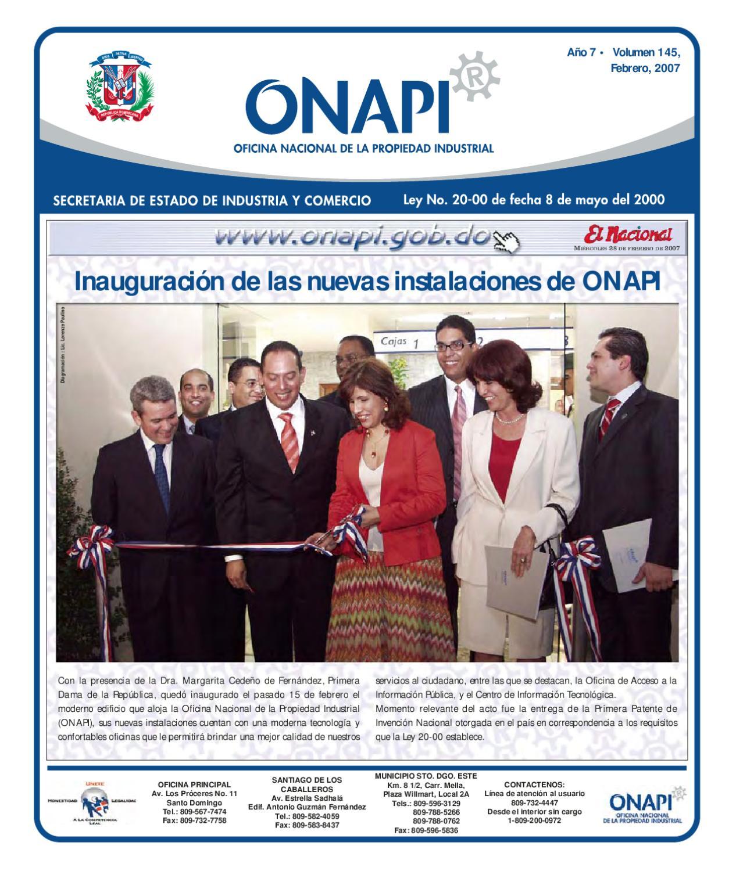 28 febrero2007 by oficina nacional de la propiedad for Oficina nacional de fiscalidad internacional