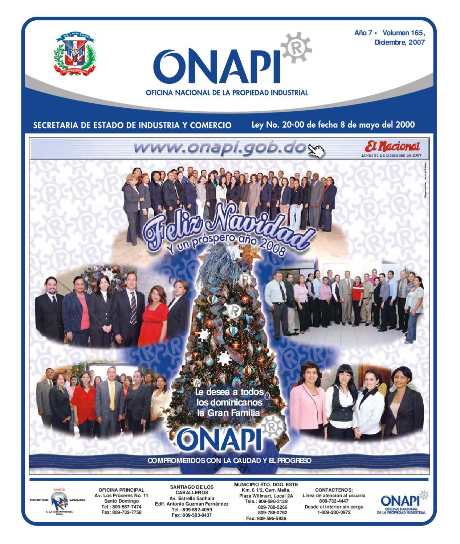 31 Diciembre2007 By Oficina Nacional De La Propiedad Industrial  # Gufanti Muebles