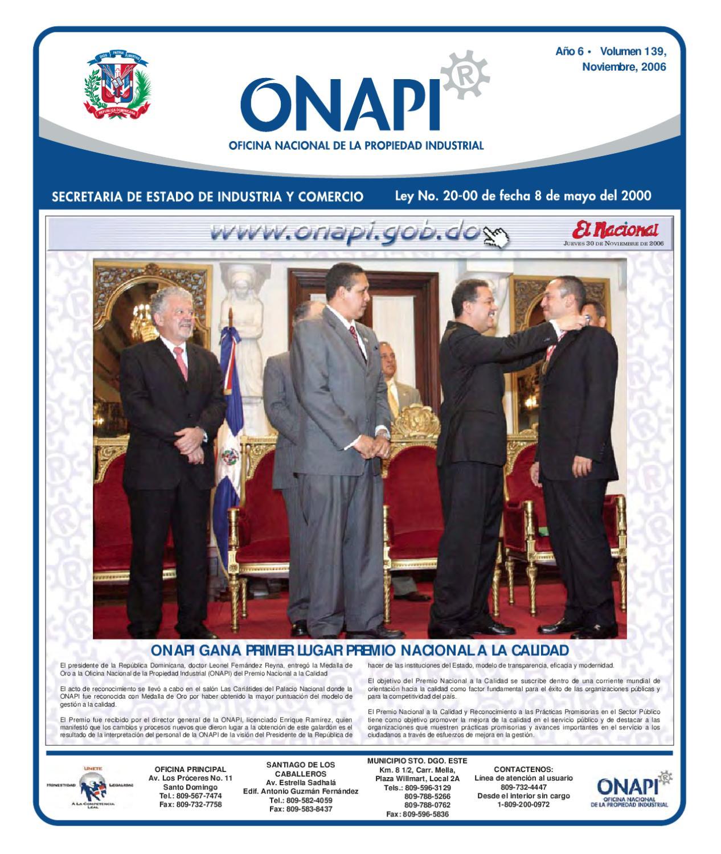 15 Diciembre By Oficina Nacional De La Propiedad Industrial Issuu # Muebles Para Consultorio Nutricional