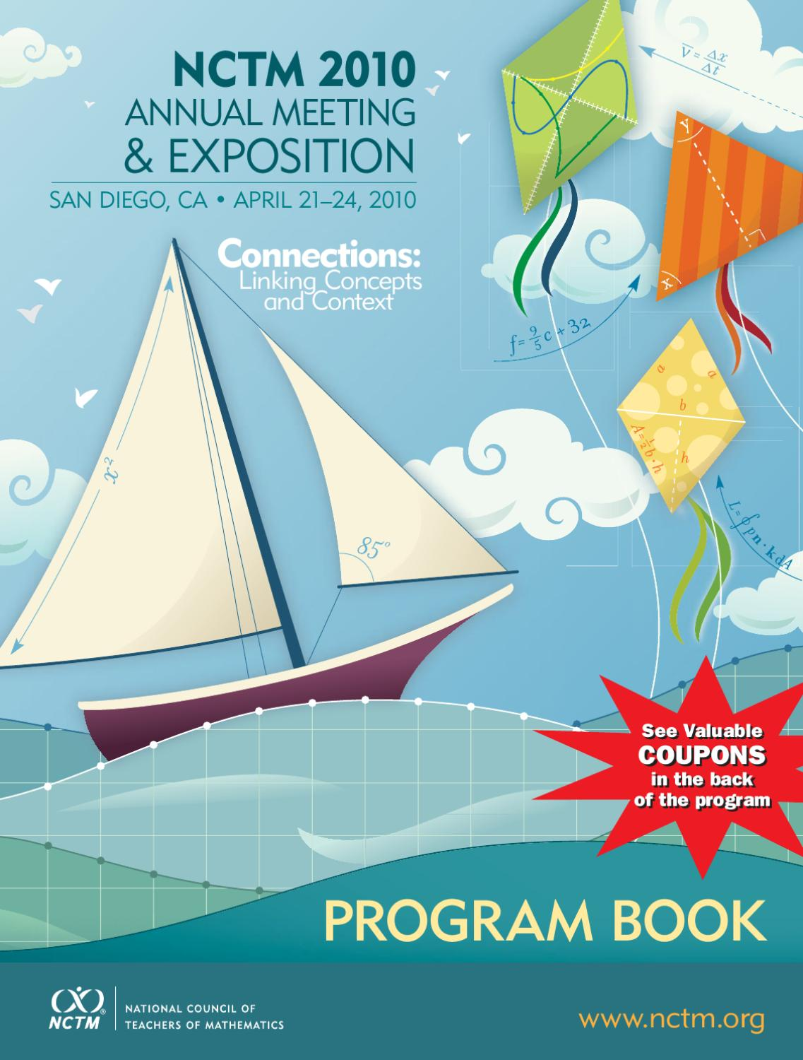 NCTM Conference Book by Cal Armstrong - issuu