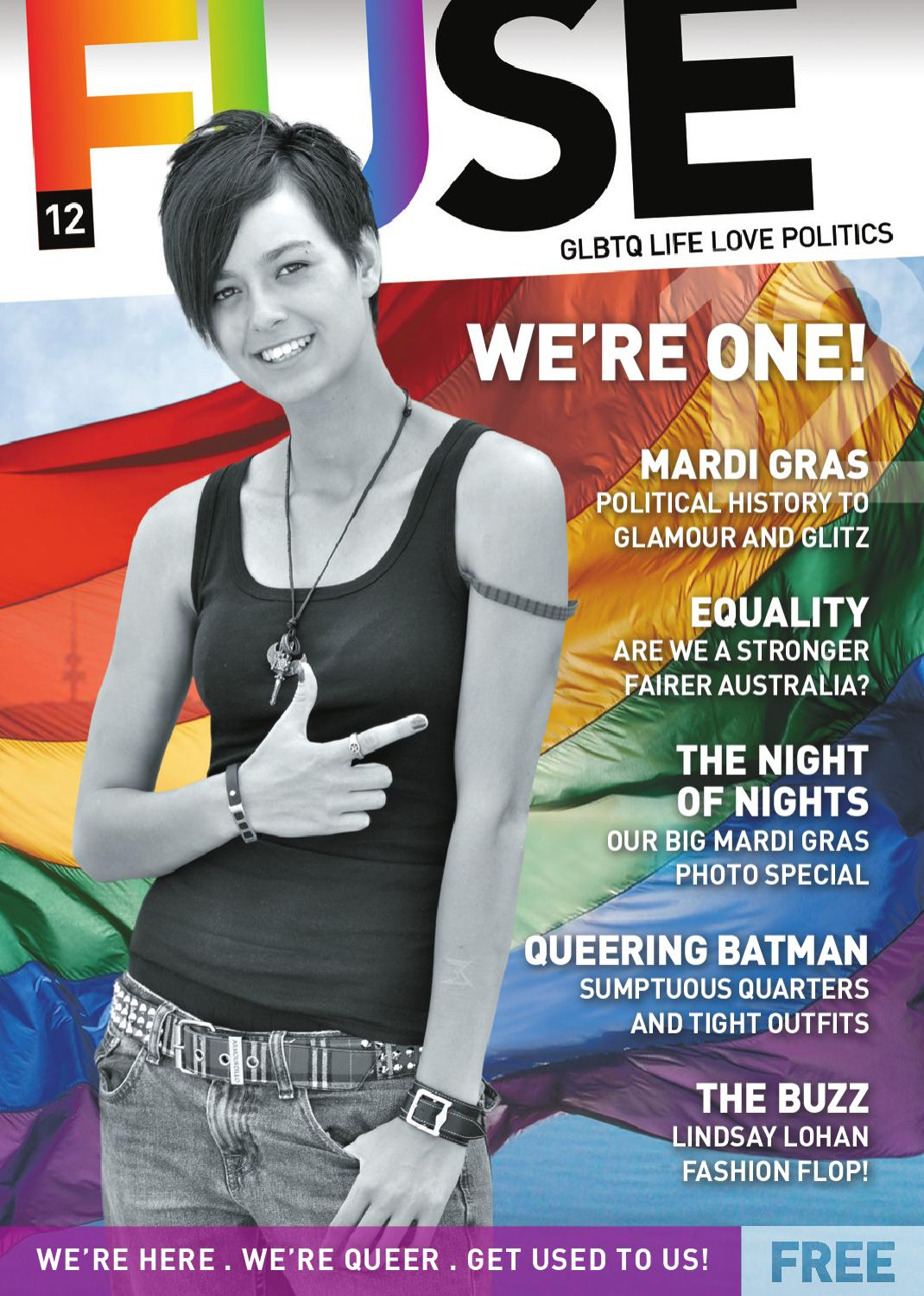 Fuse 12 Birthday And Mardi Gras Issue Cover By Magazine Issuu