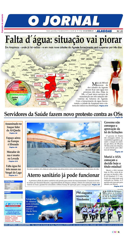 fe4a21e0e77 OJORNAL 21 04 2010 by Eduardo Vasconcelos - issuu