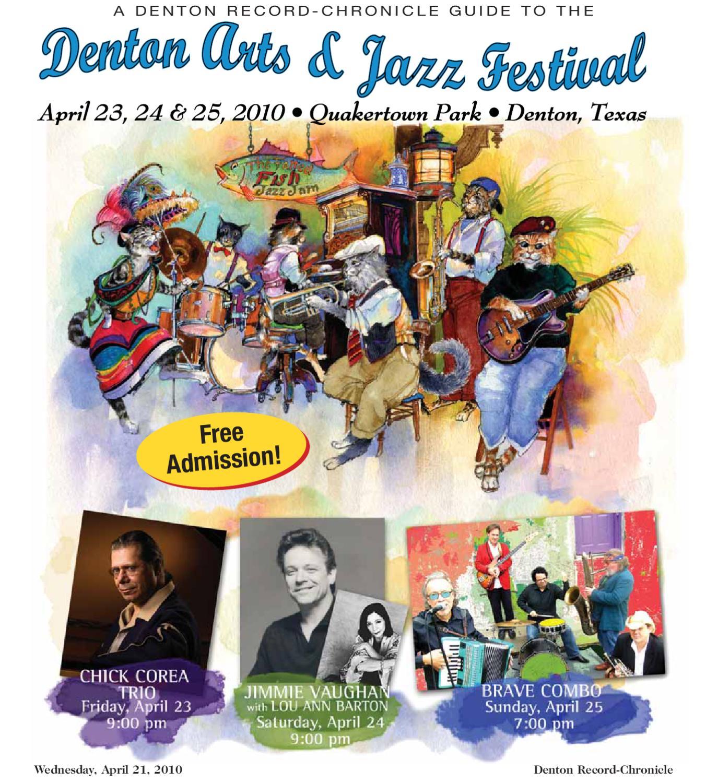 Denton Arts & Jazz Festival 2010 by Larry McBride issuu