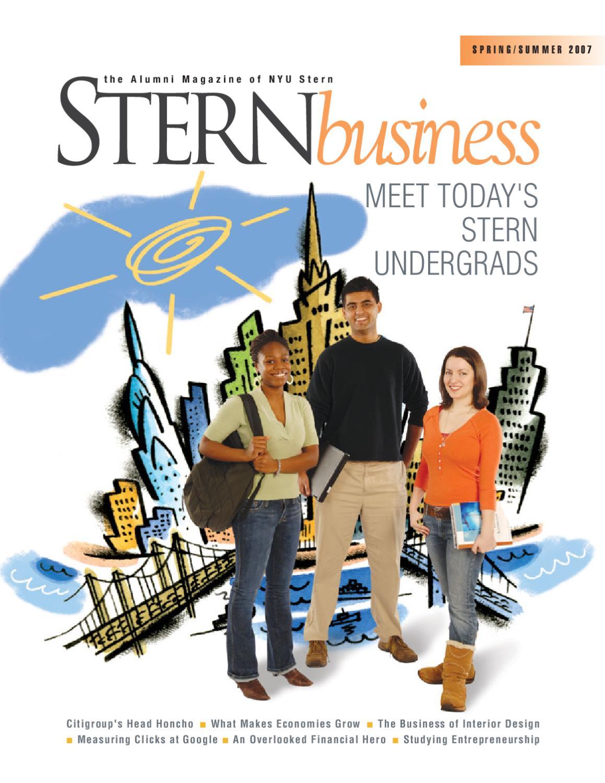 Stern Business Spring / Summer 2007 by NYU Stern - issuu