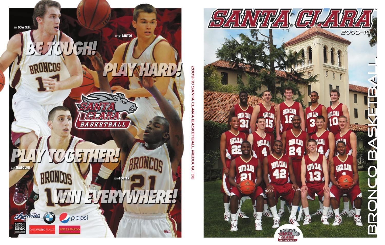 f1317aaf4504d 2009-10 Santa Clara men s basketball guide by Michelle Schmitt - issuu