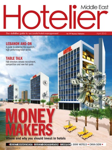 Hotelier Middle East April 2010 by ITP Business Publishing