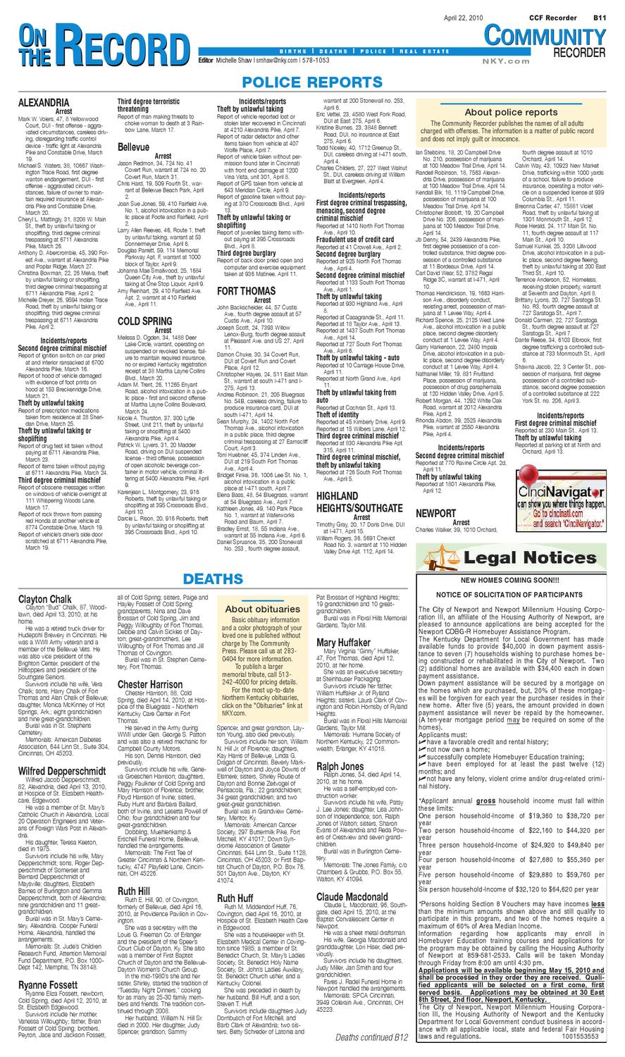 fort-thomas-recorder-042210 by Enquirer Media - issuu