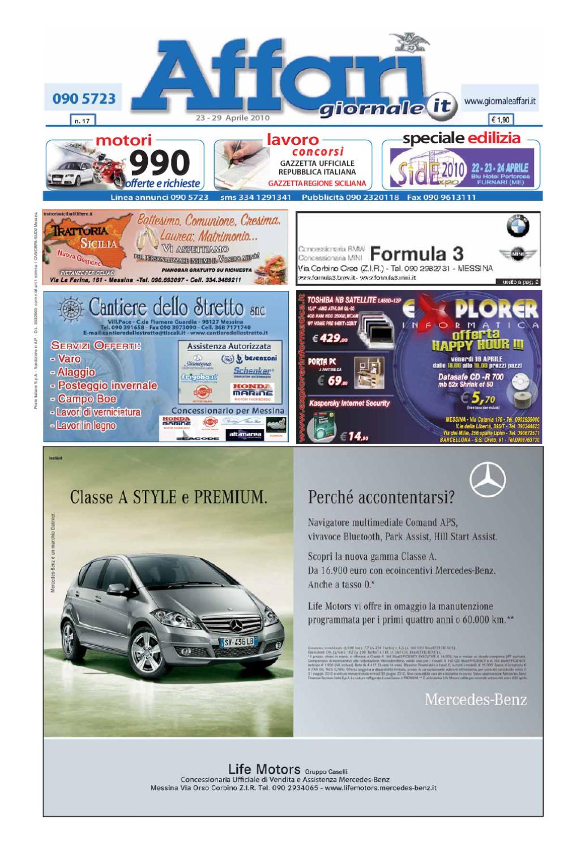 low priced 29efa d2f52 Giornale Affari 23 Aprile 2010 by Editoriale Affari Srl - issuu
