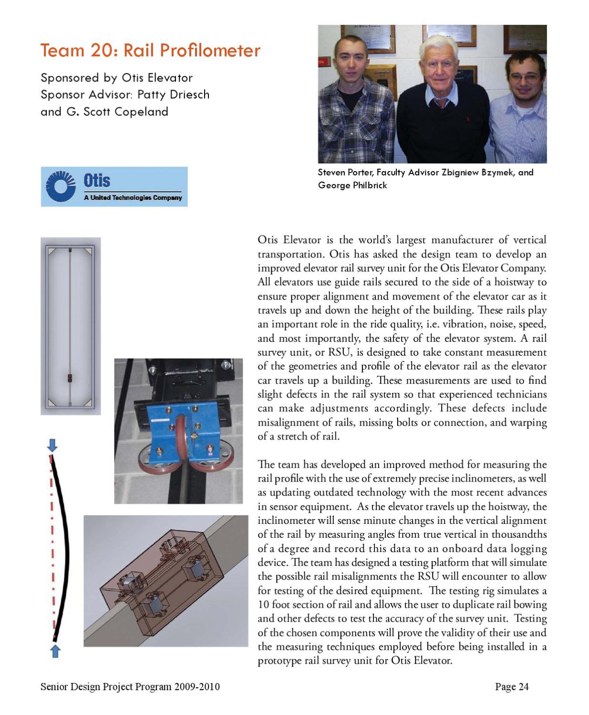 2010 Senior Design Brochure by Mechanical Engineering - issuu