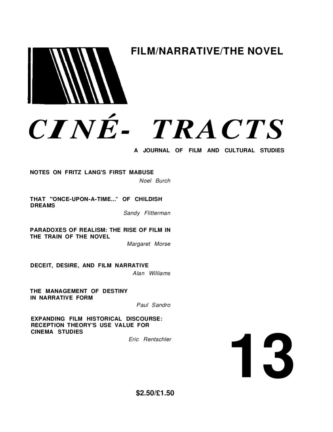 Cine-Tracts Issue 13 by Ron Burnett - issuu