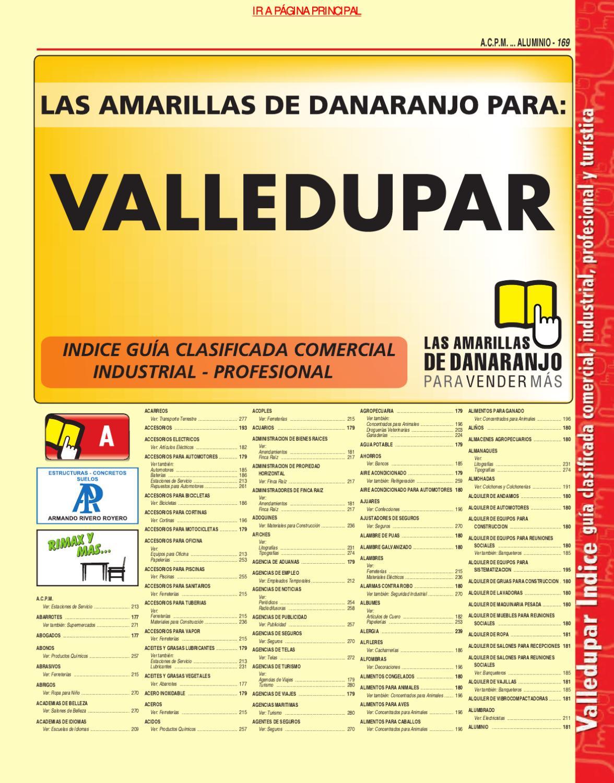 Directorio Telefonico Valledupar Cesar 2010 P Ginas Amarillas  # Nit Muebles Y Accesorios Sa