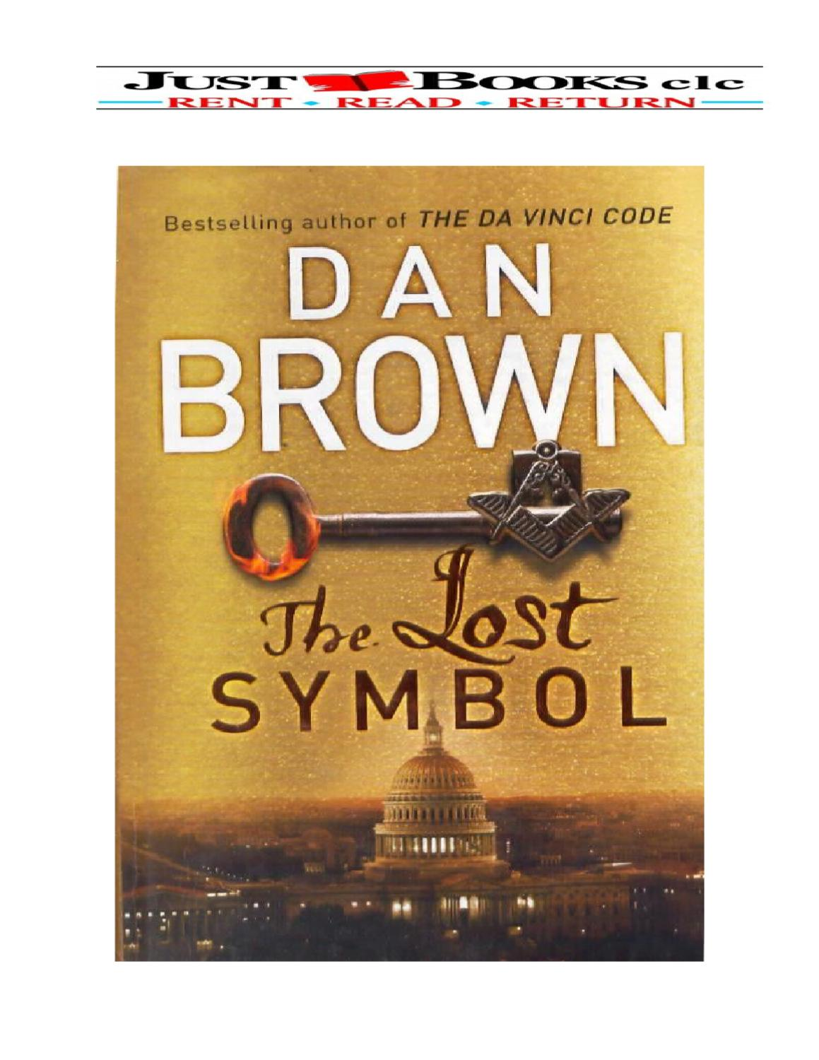 The Lost Symbol By Dan Brown By Justbooks Clc Issuu