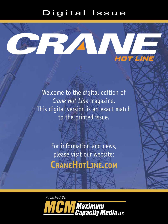 May 2010 Crane Hot Line by Maximum Capacity Media - issuu