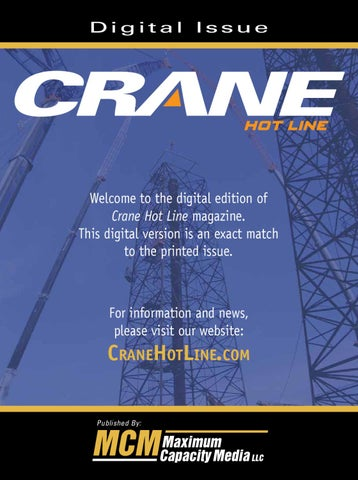 May 2010 crane hot line by maximum capacity media issuu page 1 fandeluxe Gallery
