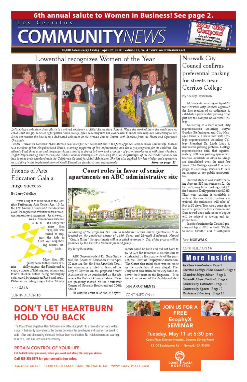 Lccn 4 23 10 by los cerritos community news issuu aiddatafo Gallery