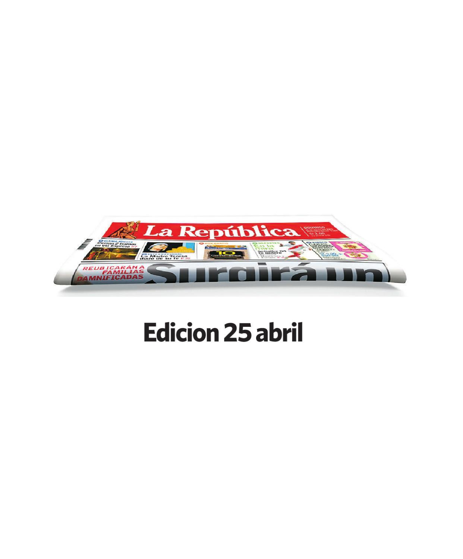 Edicion norte 24 abril by Grupo La República Publicaciones - issuu
