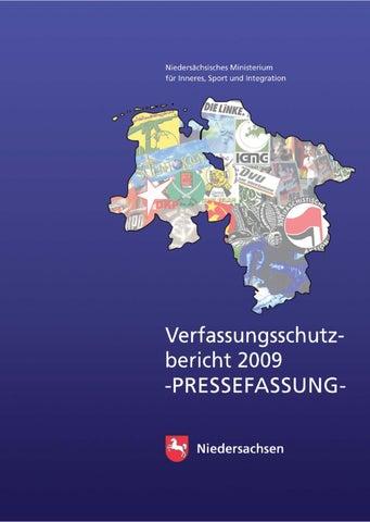04 Niedersachen 21 2009 Vom 2010 By Verfassungsschutzbericht b7yvY6fg