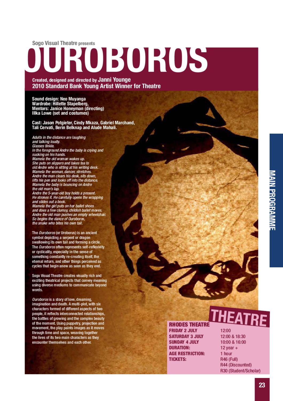 National Arts Festival Grahamstown by Tony Lankester - issuu