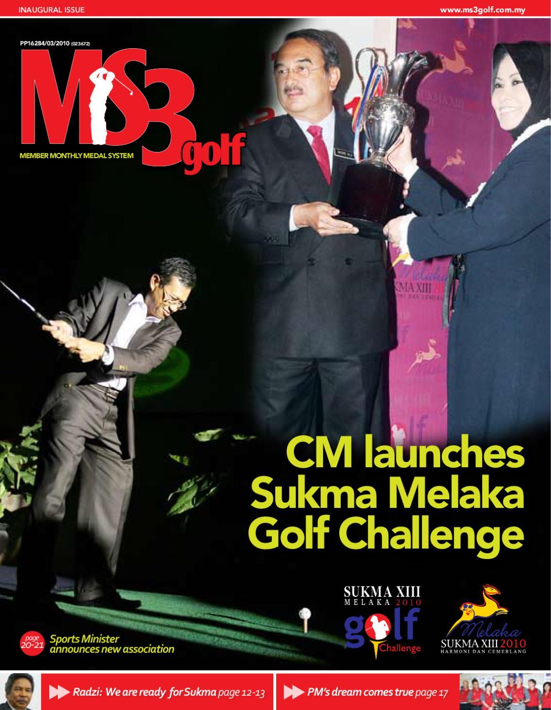 Ms3golf Magazine By Azam Ahmad Issuu Tendencies Tshirt Stay Real Hitam S