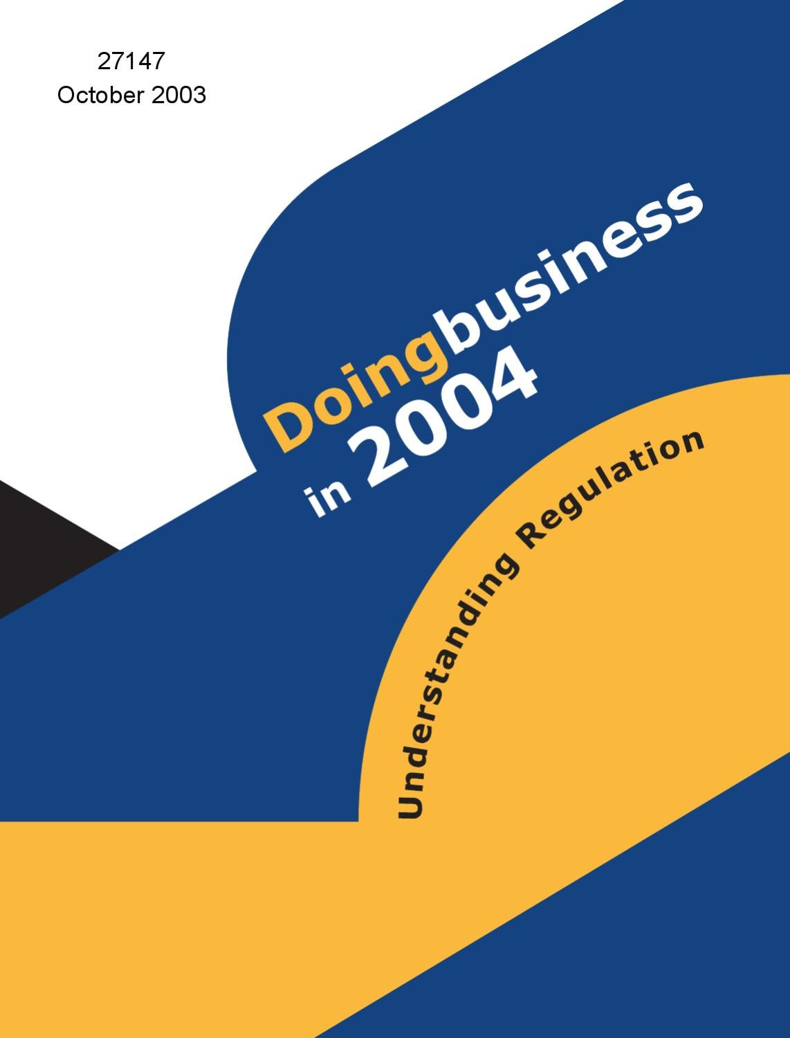 Doing Business in 2004 by World Bank Russia - issuu