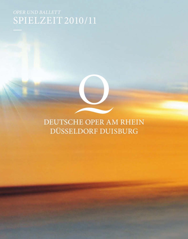 Deutsche Oper am Rhein / Spielzeit 2010/11 by Deutsche Oper am Rhein ...