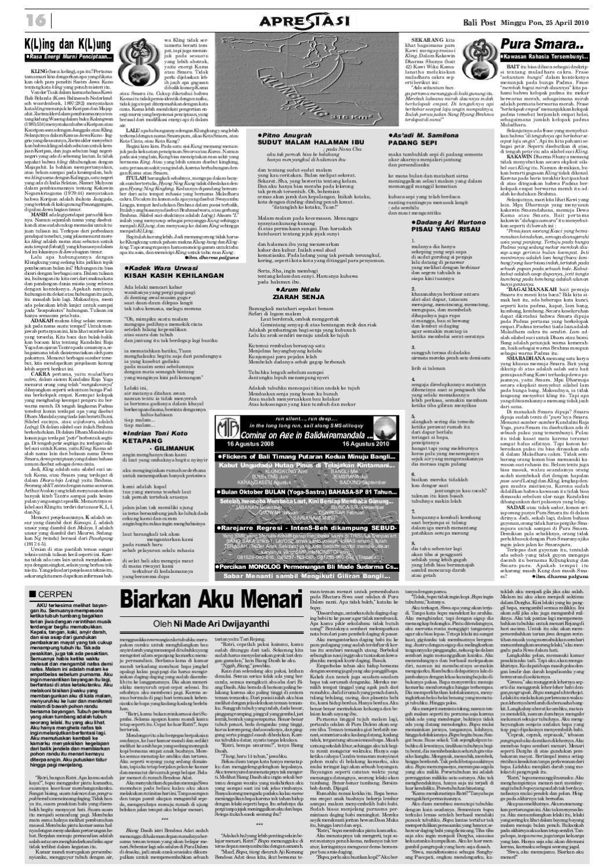 Edisi 25 April 2010 Balipostcom By E Paper Kmb Issuu Aku