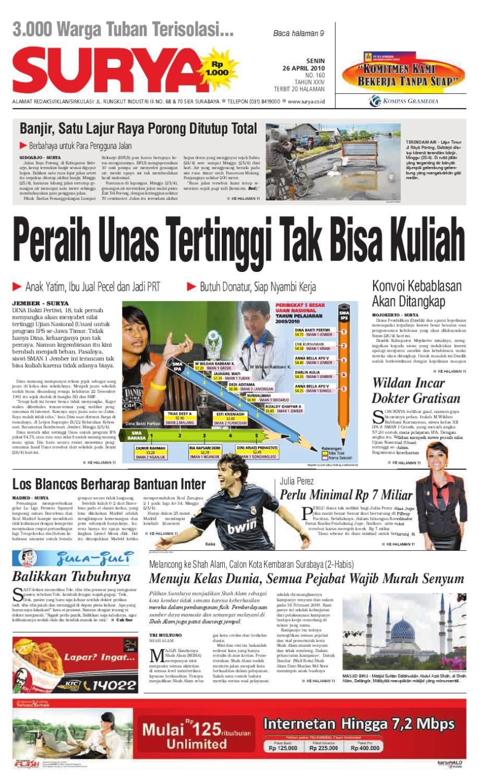 Surya Edisi Cetak 26 April 2010 by Harian SURYA - issuu 9fac37a056