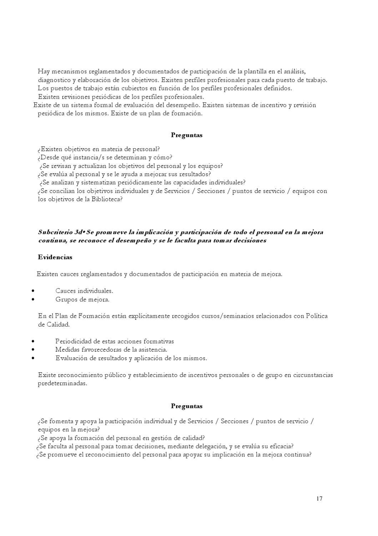 Guia EFQM - autoevaluación de bibliotecas universitarias: estándares ...