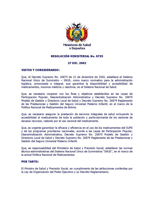 17 - Reglamento del Sistema Nacional Unico de Suministro by Colegio ...