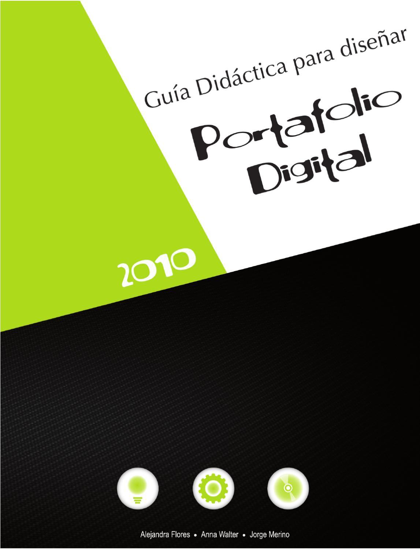 Guia didactica para dise ar portafolios digitales by jorge for Portafolio de diseno grafico pdf