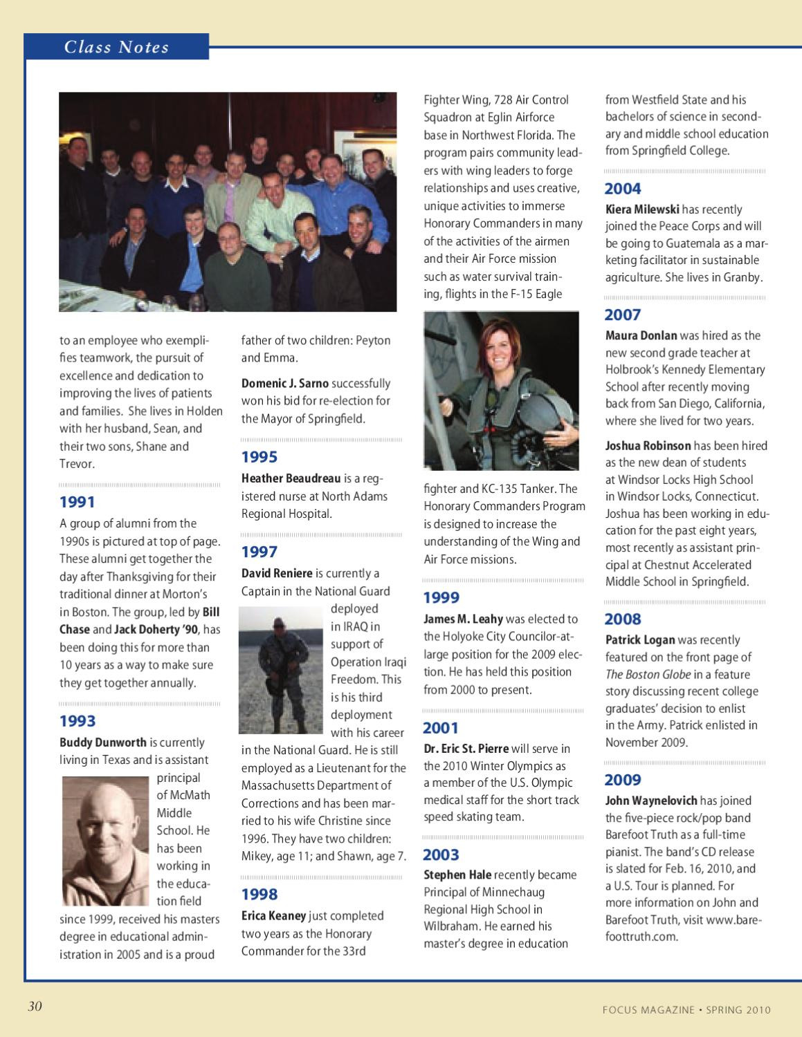 FOCUS - Spring 2010 by Westfield State - issuu