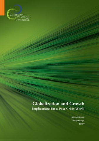 2fcab406c3e9c Globalization and Growth by World Bank Publications - issuu