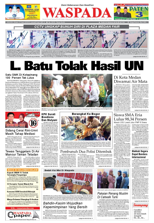 Waspada Selasa 27 April 2010 By Harian Waspada Issuu