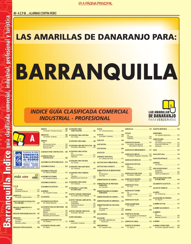 Directorio Telefonico Brrnquilla Atlantico 2010 P Ginas  # Muebles Jireh Bogota