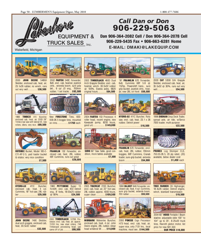 May 2010 / LUMBERMEN'S Equipment Digest by LUMBERMEN'S Equipment