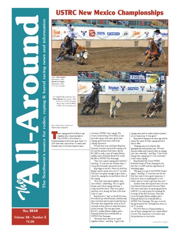 9589448e2fe The All Around-May 2010 by Western Sports Publishing - issuu